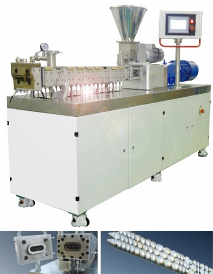 South China University triple-screw extruder