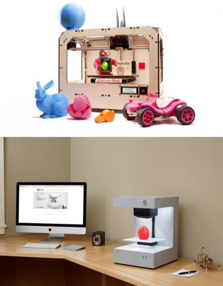 "A wave of over 100 small, inexpensive desktop ""micro extruders"" appeared after Stratasys' patent on a compact method for making 3D objects expired in 2009. Makerbot's Replicator2 was introduced in 2012 for $1,999; Zeepro's Zim launched in 2013 for only $599."