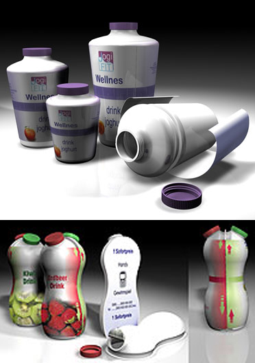 Hol-Pack in Austria invented an ingenious twin-sheet forming technology for up to 1.25 liter bottles. Bottle halves could be formed either horizontally or vertically with novel design options. But the technology failed to attract investors and eventually was dropped.